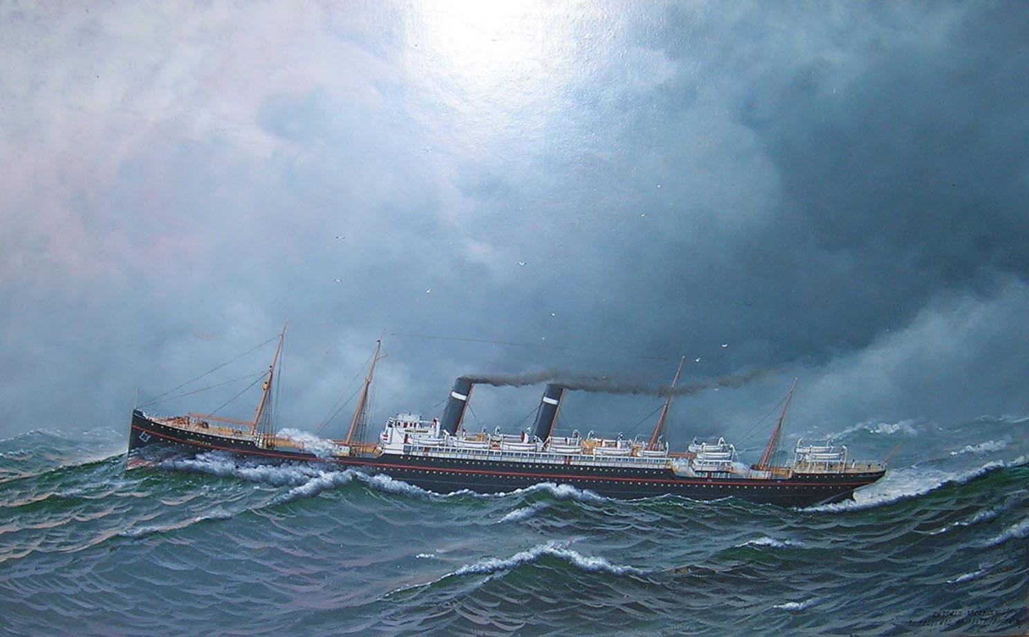 Antonio Jacobsen Painting