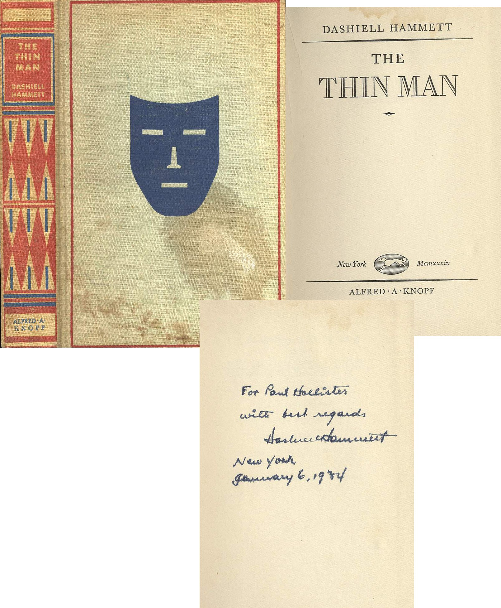 Thin Man First Edition
