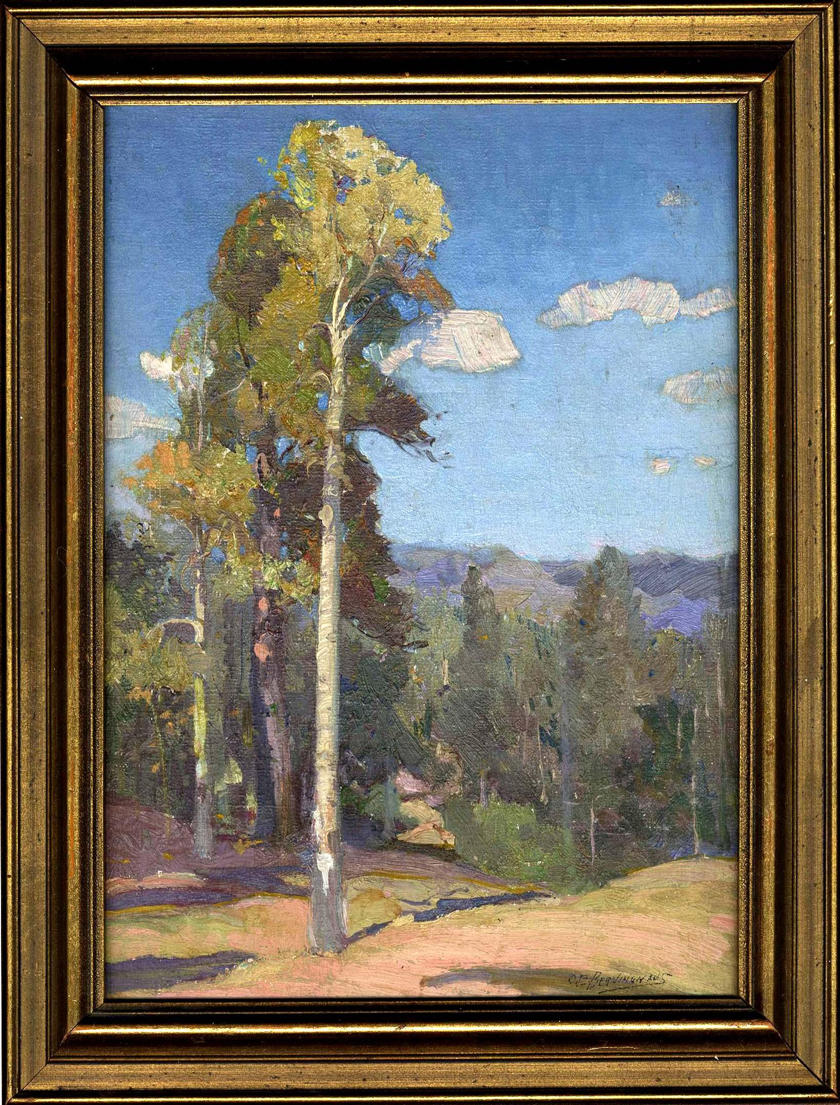 Oscar Berninghaus Painting