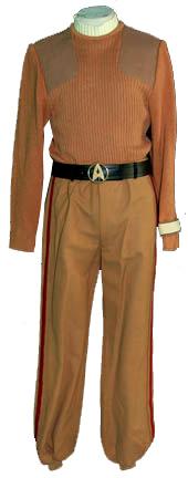 """Star Trek memorabilia auction Commando field-duty uniform from """"Star Trek V: The Final Frontier."""""""