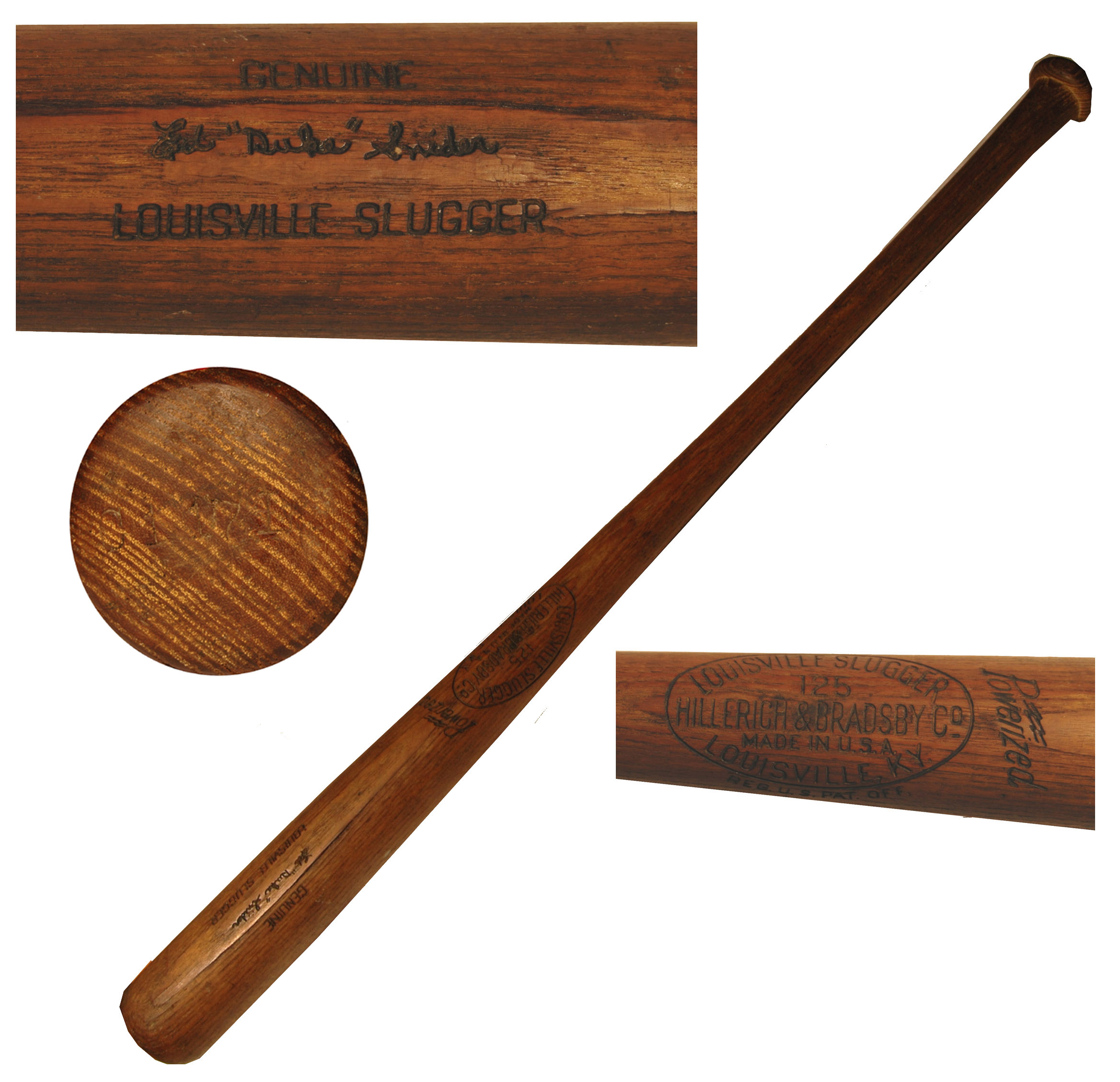 Duke Snider Bat