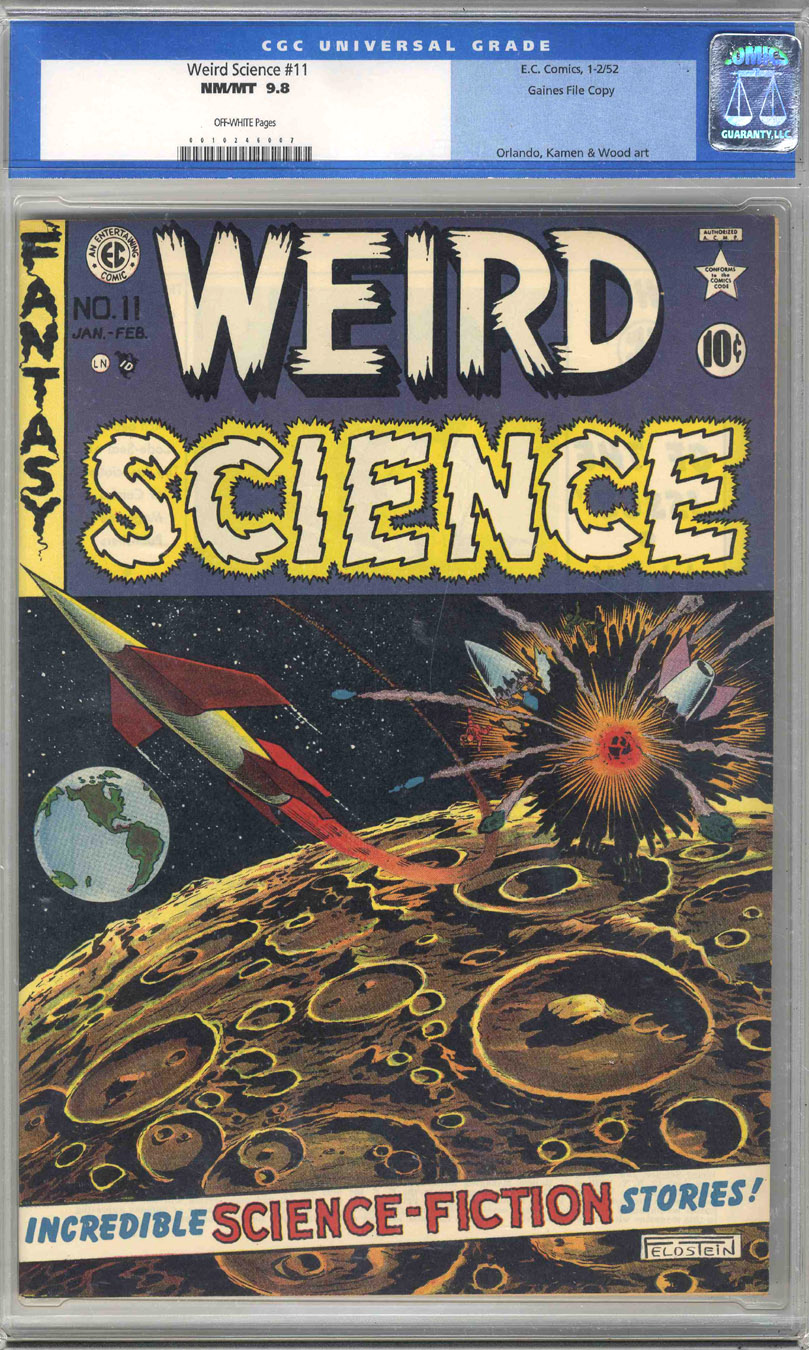 EC Comics Weird Science 11 CGC 9.8