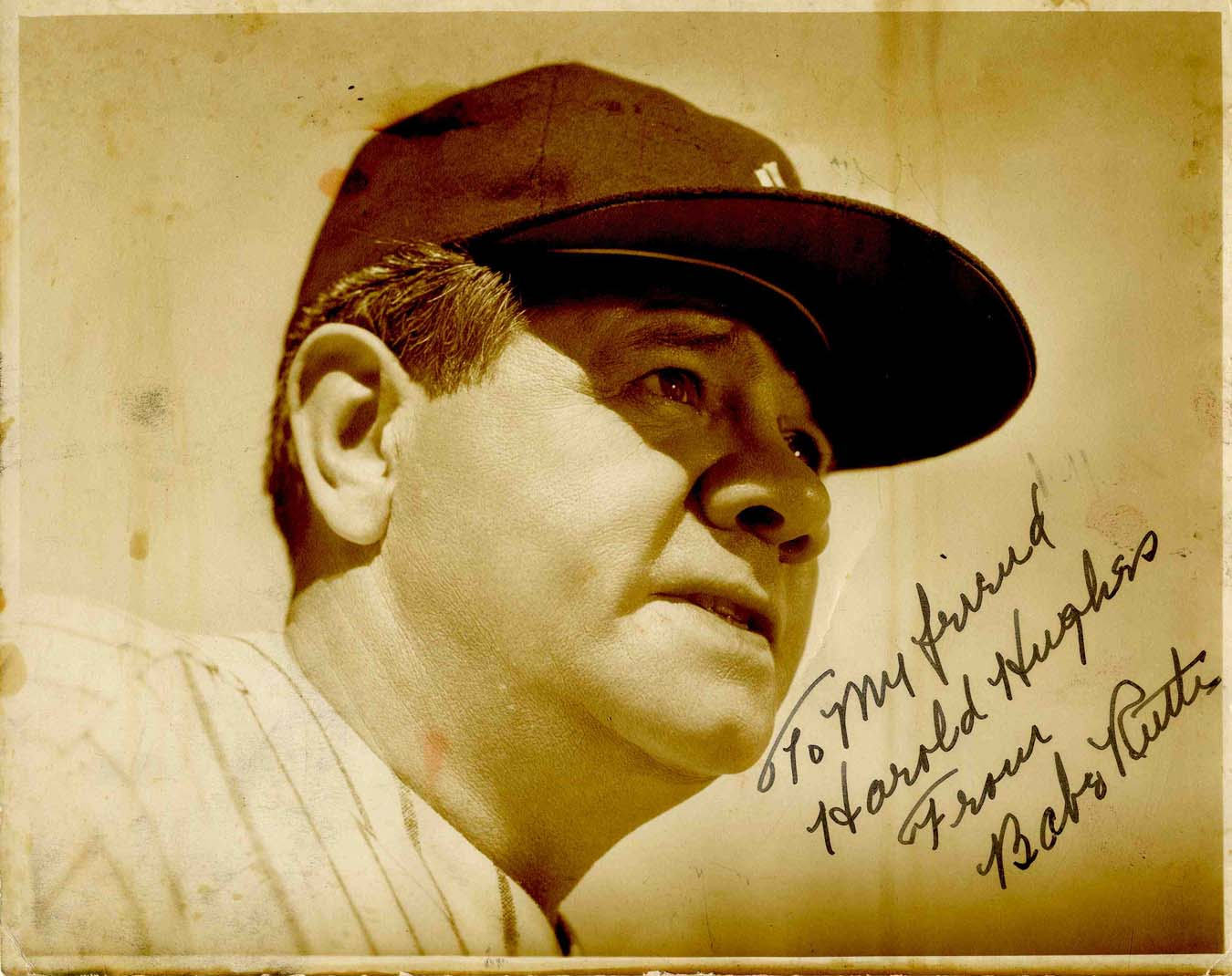 Babe Ruth Autograph