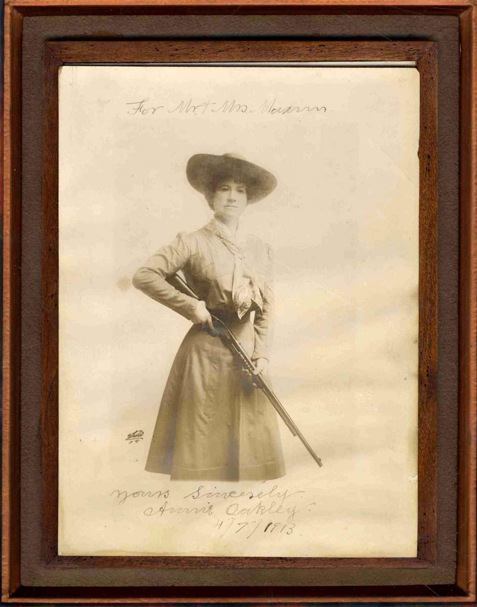 Annie Oakley Autograph