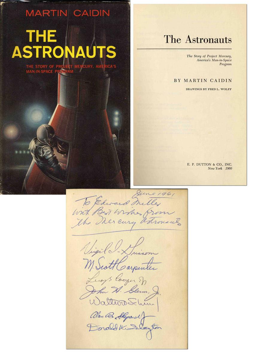 Mercury Seven Astronauts Autographs