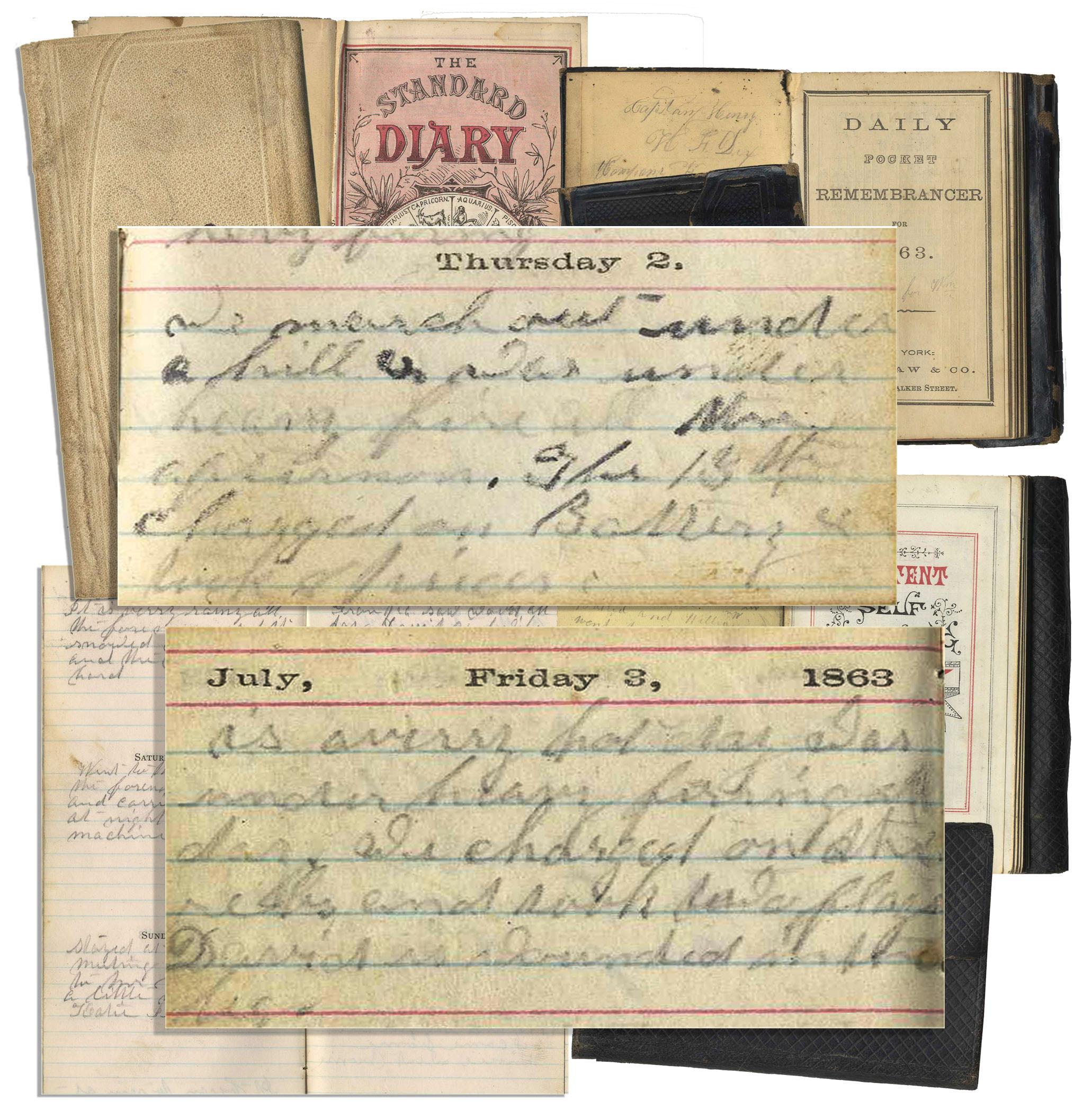 Gettysburg Diary