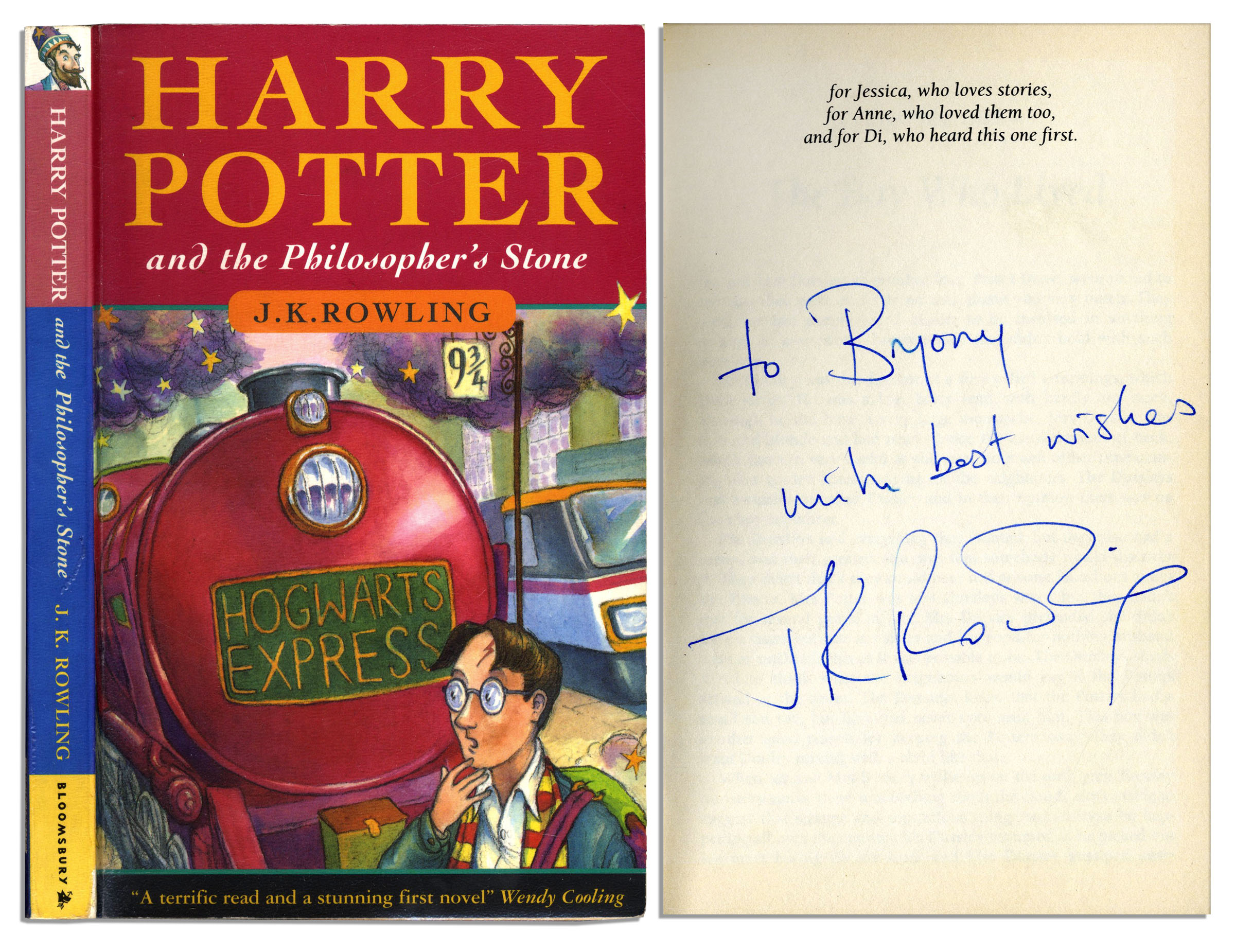Sell Your Harry Potter 1st Edition For 0 Commission 80000