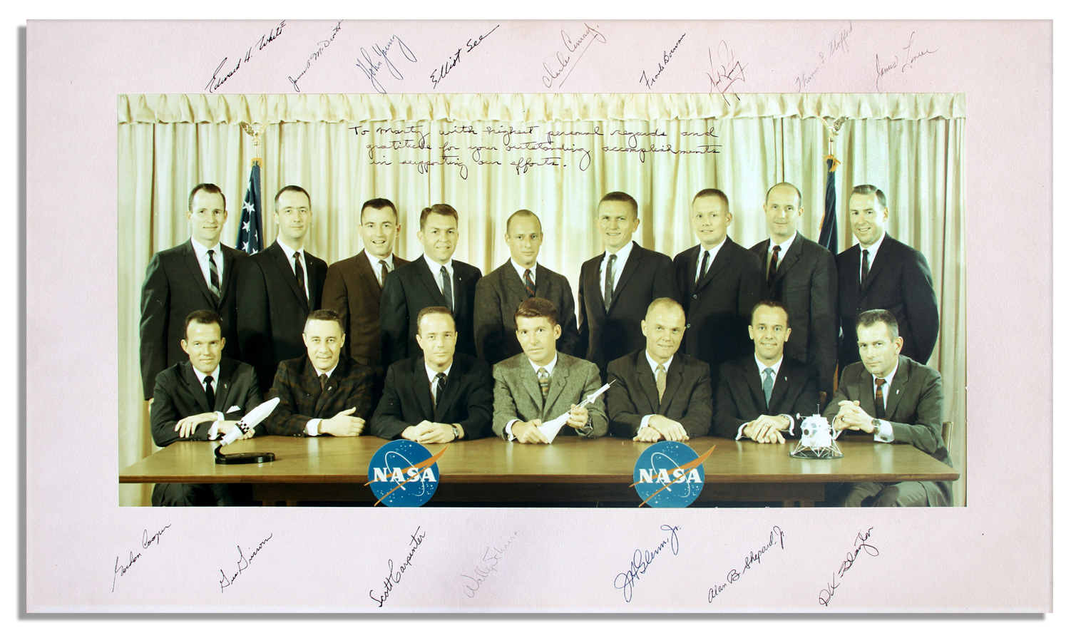 The Mercury Seven Original 7 Space POSTER
