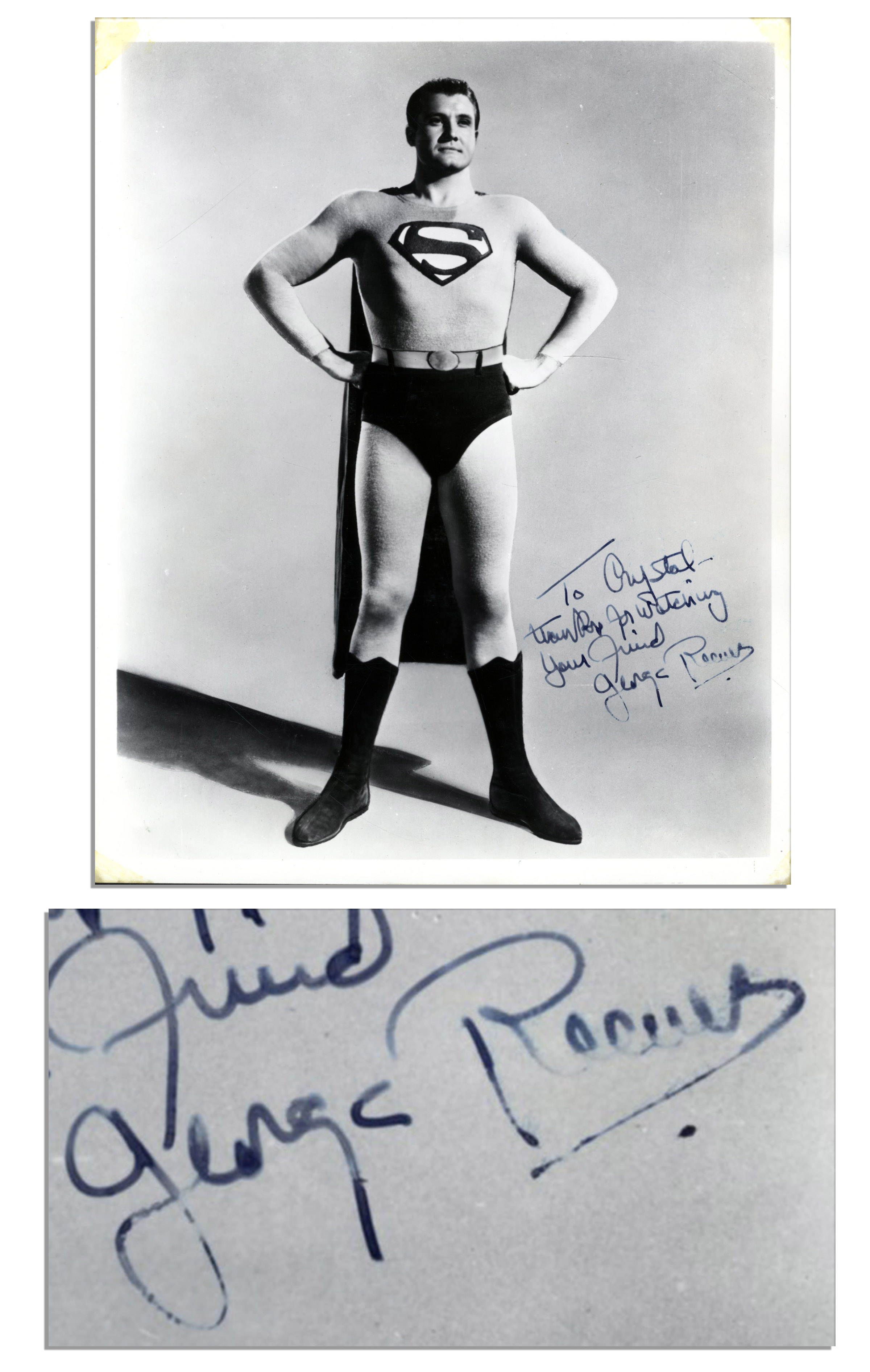 George Reeves Autograph