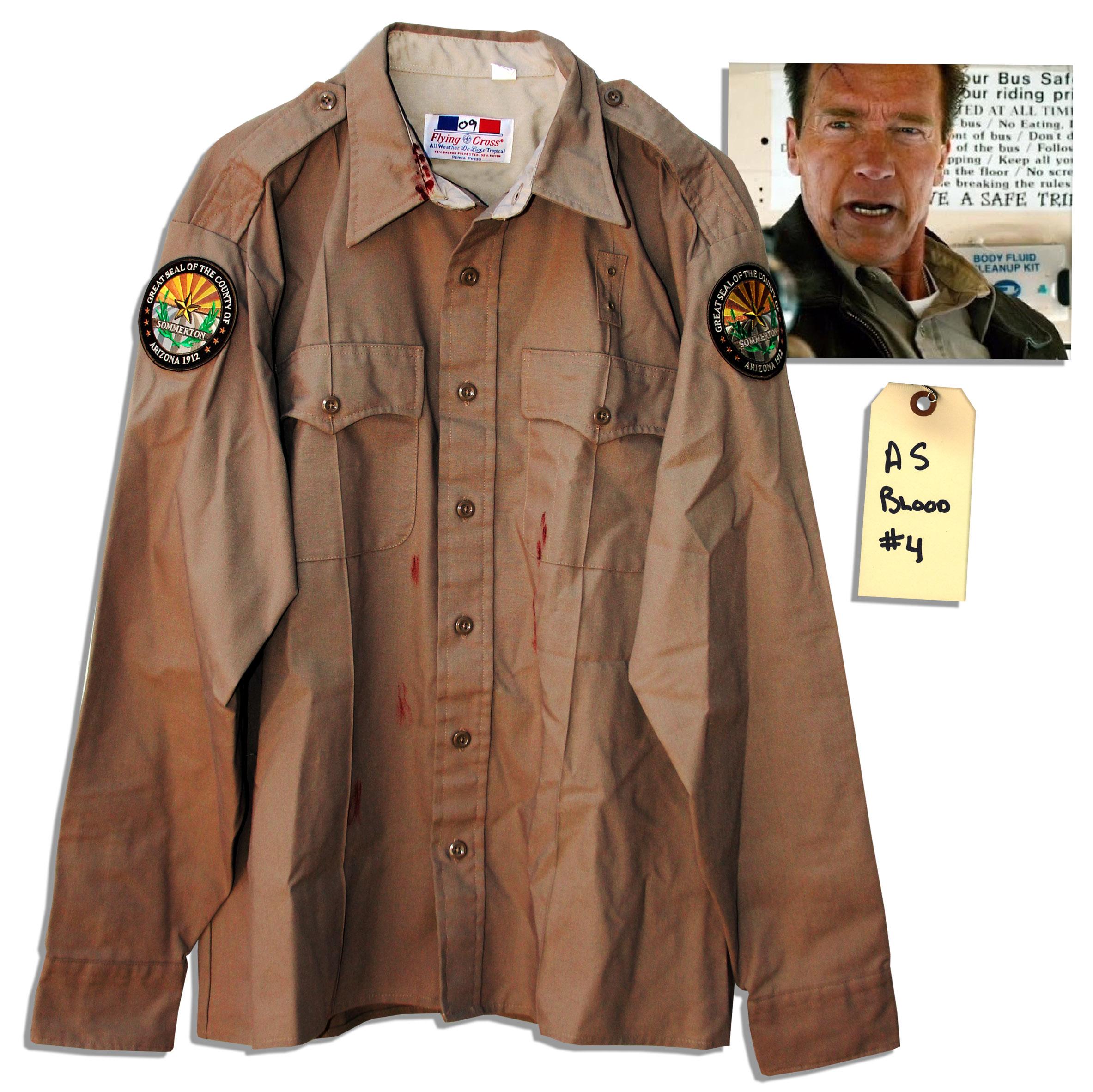 Arnold Schwarzenegger costume