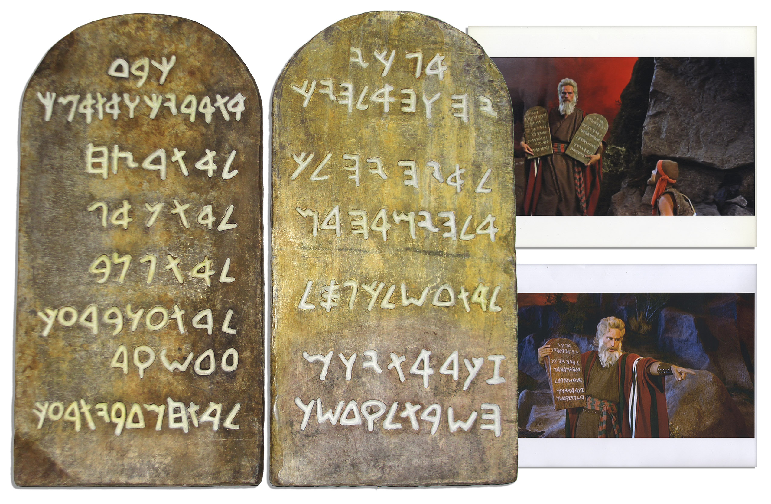 Ten Commandments Memorabilia