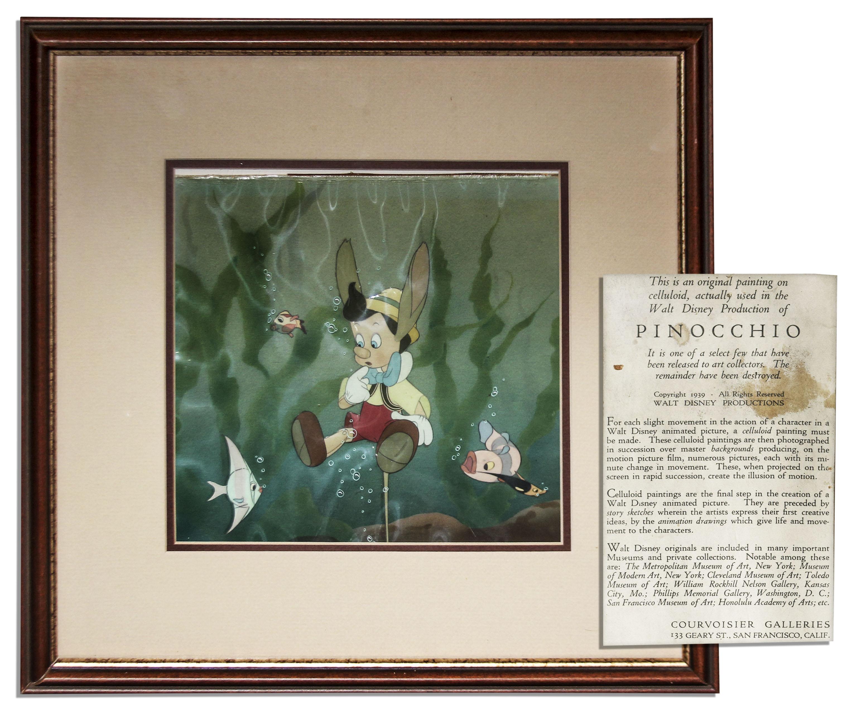 Pinocchio Cel