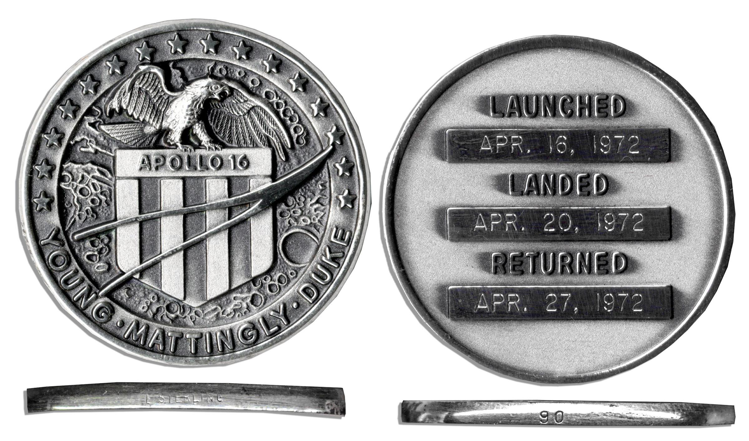 Apollo 16 Flown