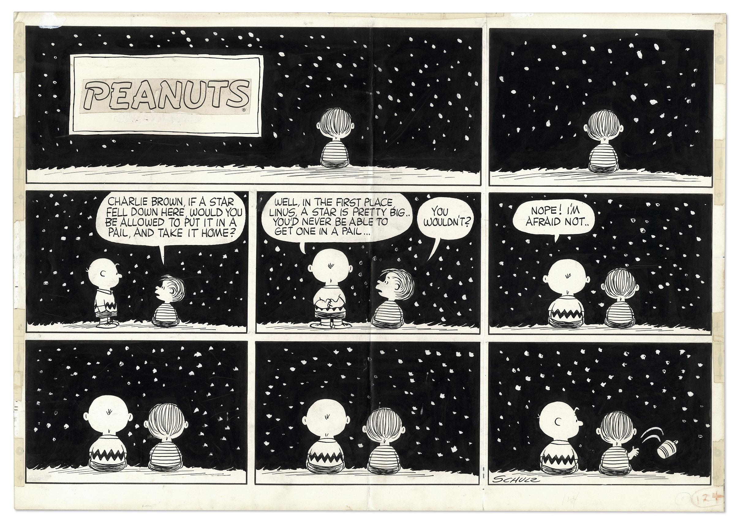 Bill Watterson Comic Art