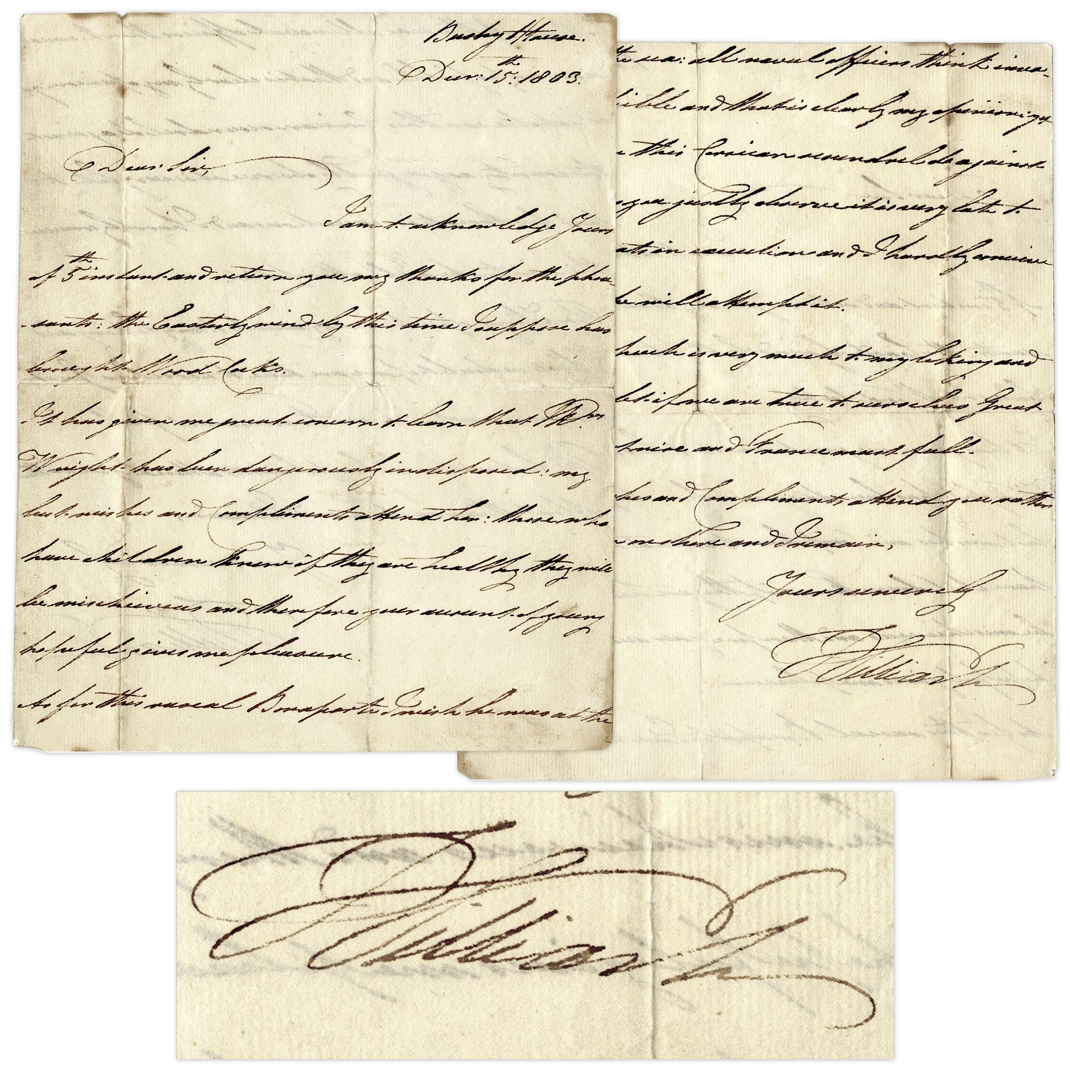 William IV autograph