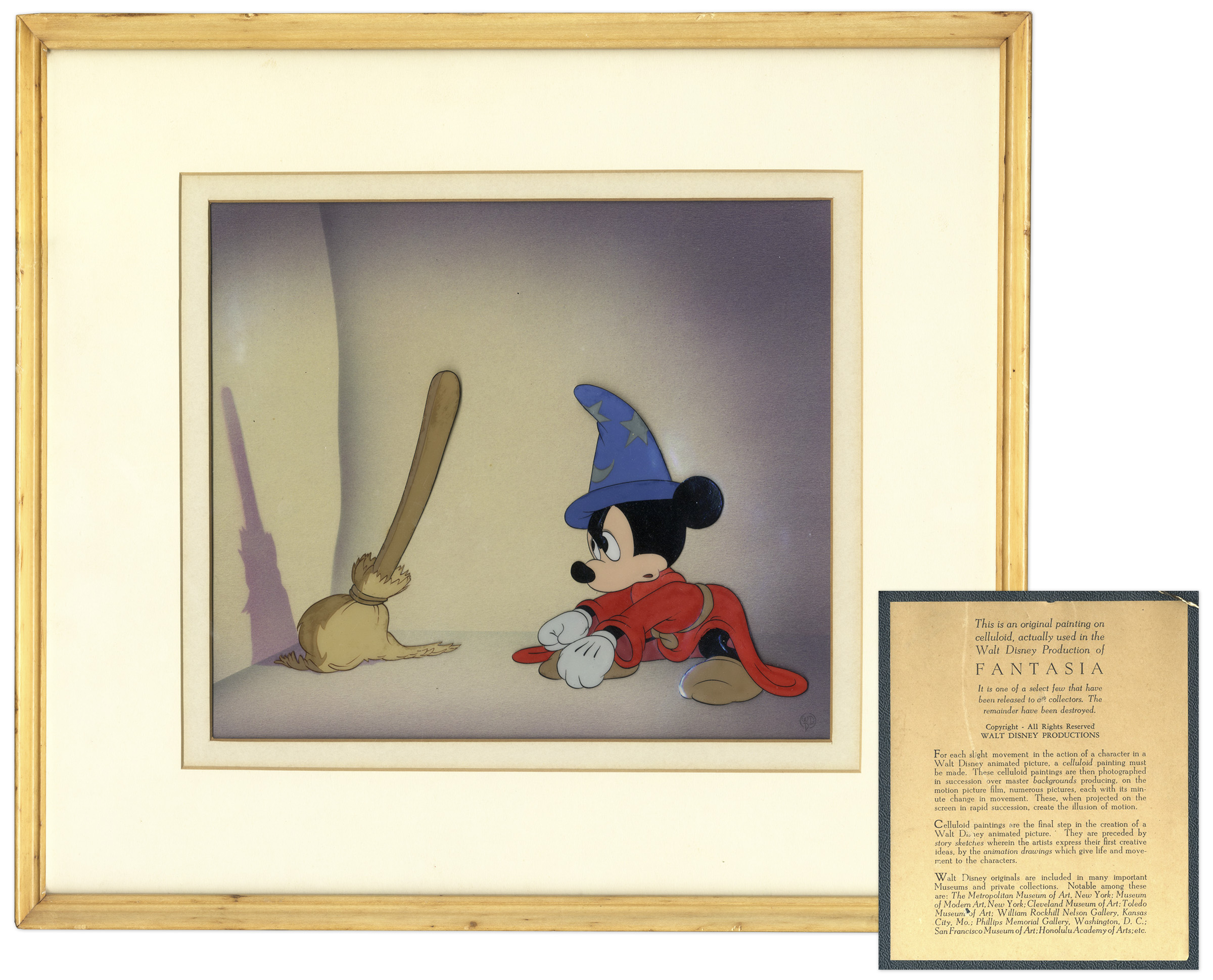 Walt Disney Fantasia Art
