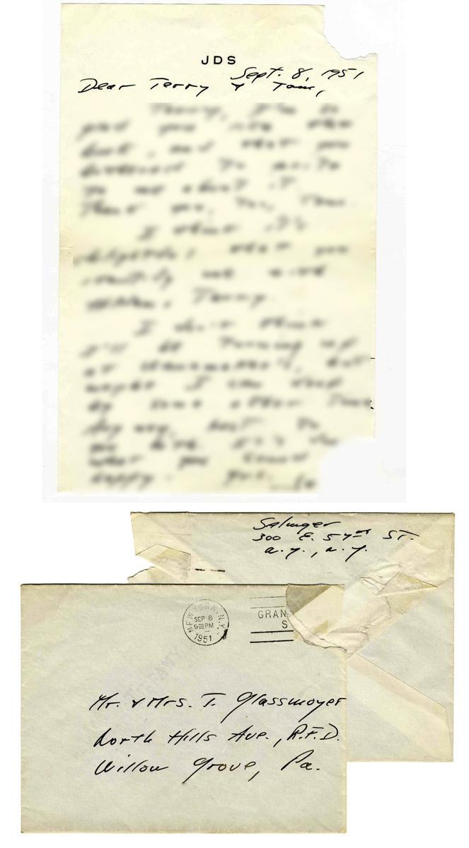 J. D. Salinger Autograph J.D. Salinger Autograph